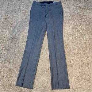 KENNETH COLE REACTION Stretch Solid Twill Pants